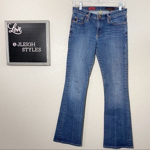AG The Angel Bootcut Medium Wash Jeans 27